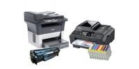 Как можно отличить лазерные принтеры и МФУ от струйных?